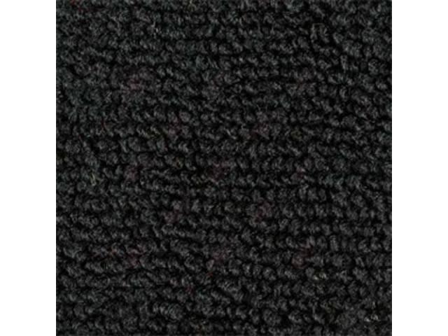 CARPET RAYLON WEAVE MOLDED COMPLETE BLACK