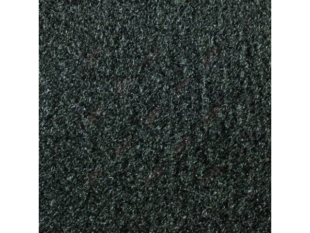 CARPET CUT PILE NYLON MOLDED FRONT ONLY CHARCOAL