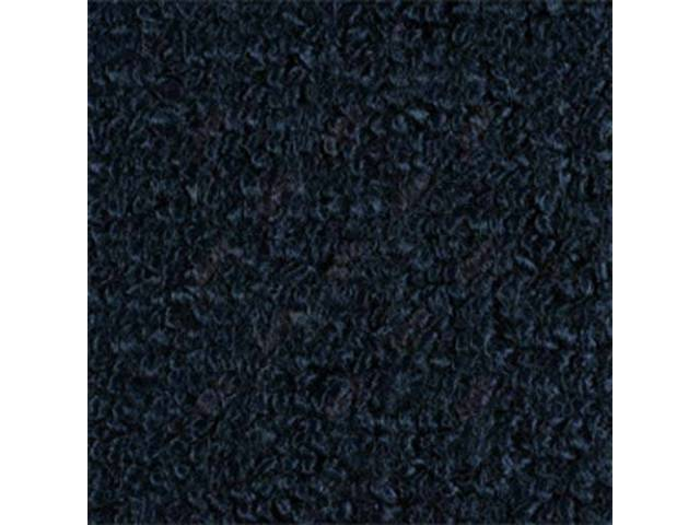 CARPET TAILGATE RAYLON WEAVE MOLDED COMPLETE DARK BLUE