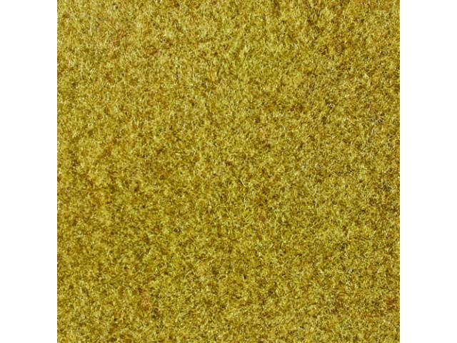 CARPET Tailgate Cut pile nylon molded complete Gold