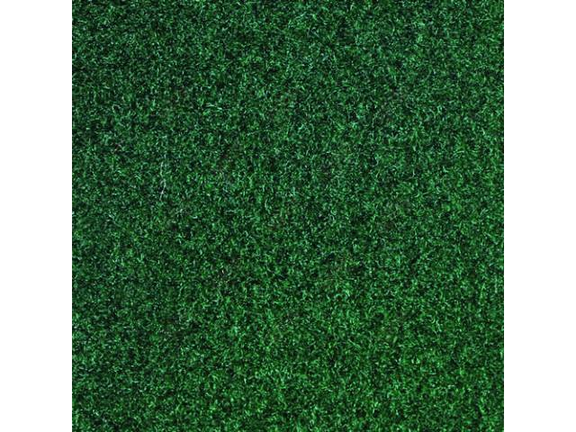 CARPET Tailgate Cut pile nylon molded complete jade