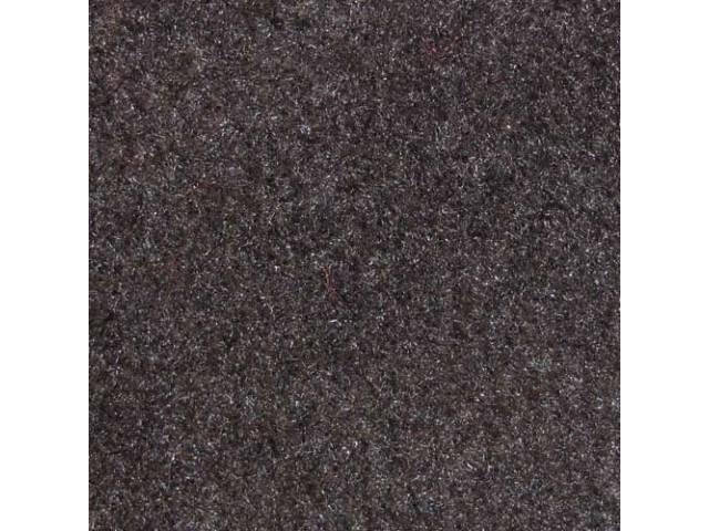 CARPET Tailgate Cut pile nylon molded complete graphite