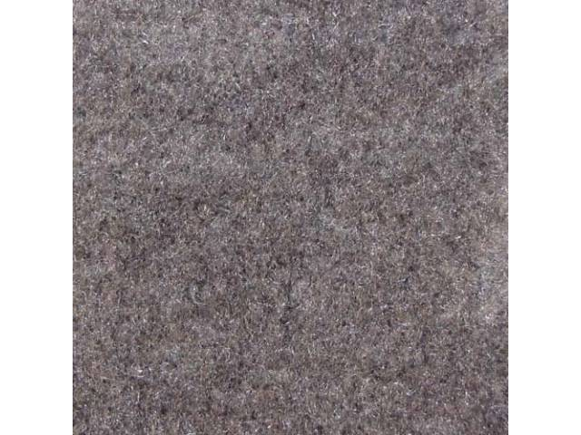 CARPET, Tailgate, Cut pile nylon, molded, complete, light