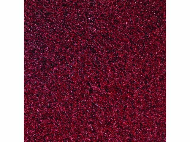 FLOOR MAT, CUT PILE NYLON CARPET, 2 PIECE,