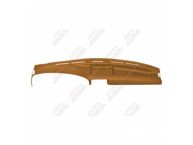 ULTIMAT, CARAMEL, CUSTOM MOLDED DASH COVER, PROTECT YOUR