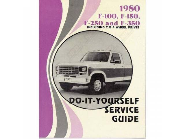 DO-IT-YOURSELF SERVICE MANUAL