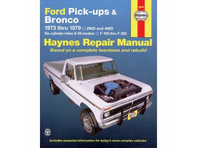BOOK, HAYNES WORKSHOP MANUAL 73-79