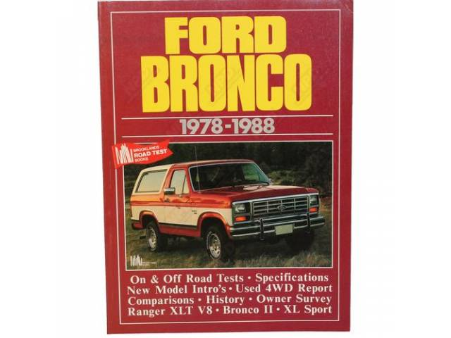 BOOK BRONCO 1978-88 BROOKLANDS