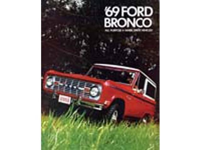 SALES BROCHURE, DEALER, 1969 BRONCO
