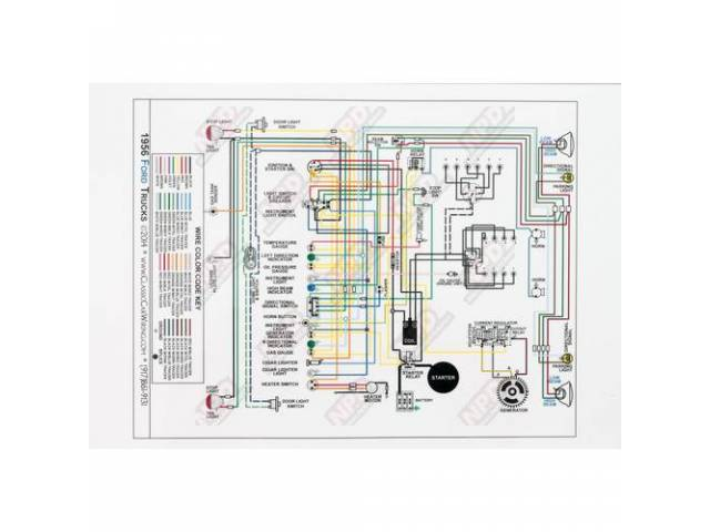 WIRING DIAGRAM 56 mat full color 17 1/2 on