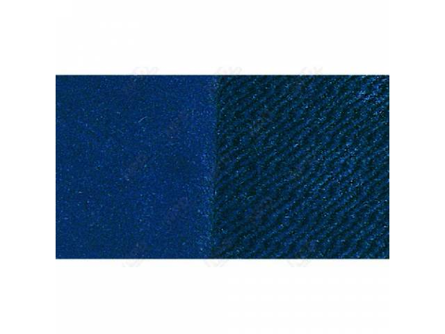 SEAT COVER ROYAL VELVET BUCKET BLUE QUILTED ELEGANCE