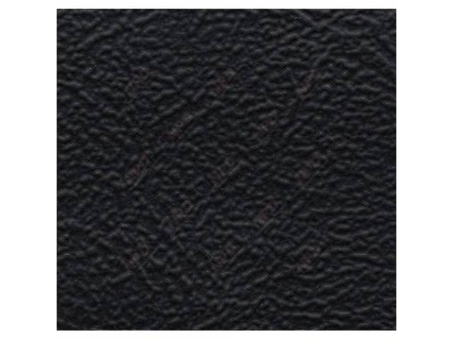 UPHOLSTERY SET STANDARD BENCH BLACK SIERRA GRAIN VINYL