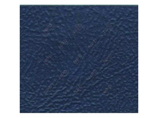 UPHOLSTERY SET STANDARD BENCH DARK BLUE SIERRA GRAIN