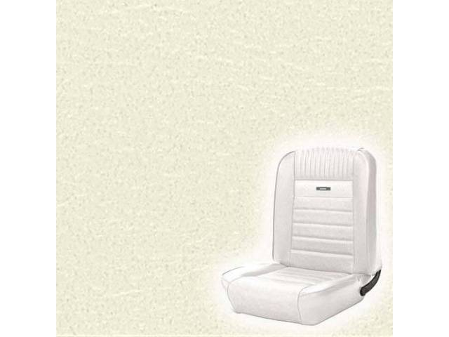UPHOLSTERY FRONT BUCKET DELUXE WHITE