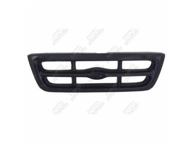 GRILLE / BLACK XL 2WD / SPLASH 98-99