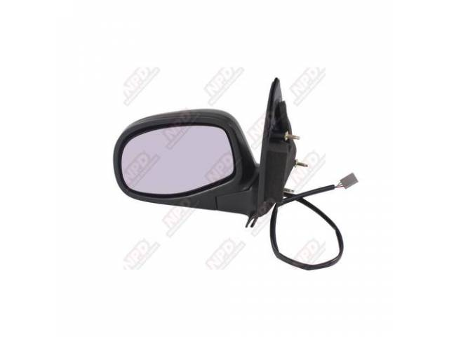 SIDE MIRROR / LH 93-97 POWER FLAIRSIDE ONLY