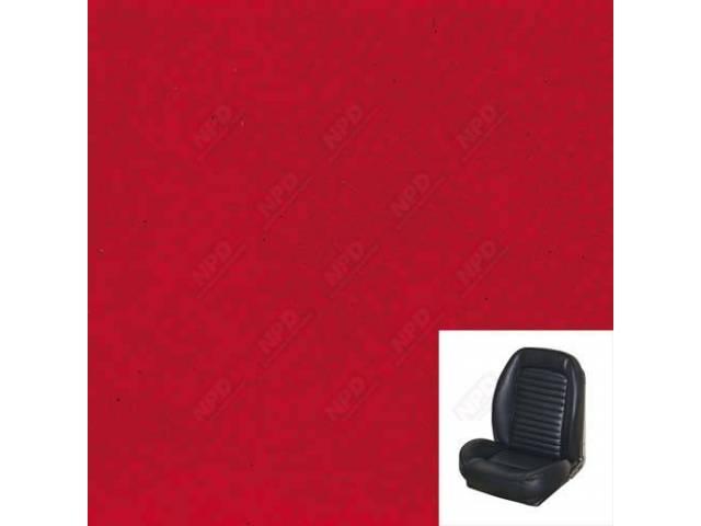 UPHOLSTERY Front Bucket Sport Seat II Standard style