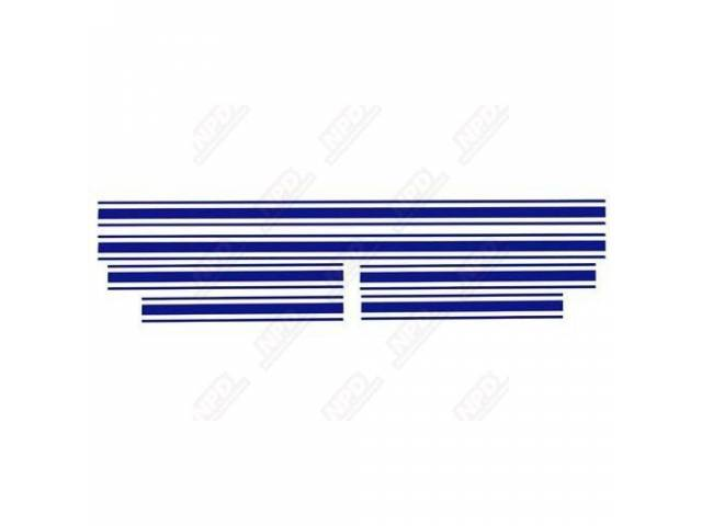 STRIPE SET, GT, DARK BLUE