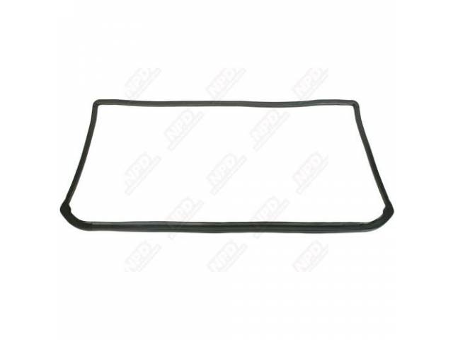 Gasket, Windshield, Molded Rubber, Repro