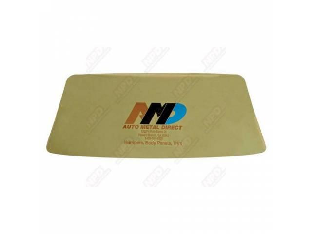 Glass Windshield Tinted Incl Correct Mopar Pentastar Logo