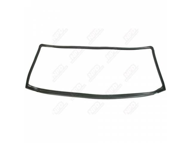 Gasket Windshield Molded Rubber Repro