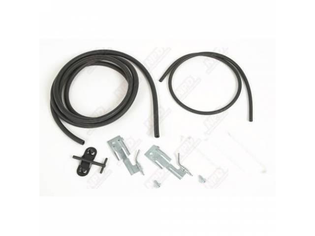 Hose Kit Windshield Washer Correct Ribbed Tubing Plastic