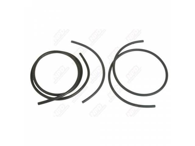 Hose Set Windshield Washer Correct Ribbed Tubing Hose
