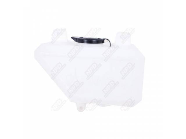 Resevoir Washer White Plastic Use W / Electric