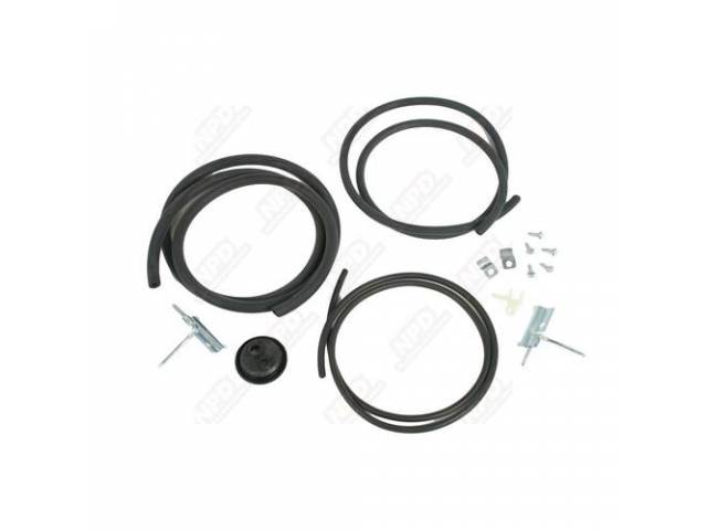 Hose Kit Windshield Washer Correct Ribbed Tubing Hose