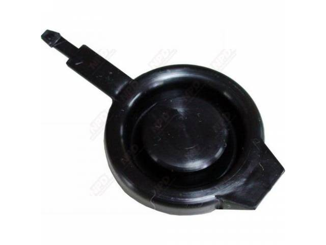 Cap Washer Reservoir Black Plastic Repro