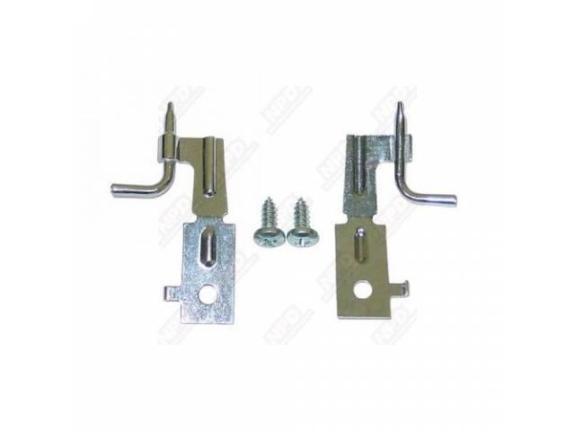 Nozzle Set, Windshield Washer, Incl Mounting Hardware, Correct