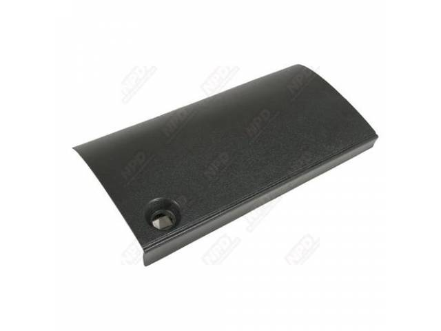 Door, Console / Seat Separator Glove Box, Black,