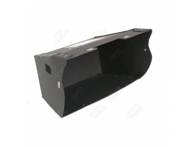 Glove Box Made Of Same Black Trim Board