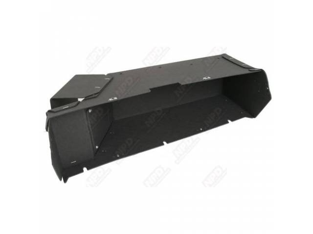 Box, Instrument Panel Glove Compartment, Made Of Same