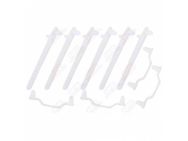 Wire Strap Sets Engine Bay New Style Incl