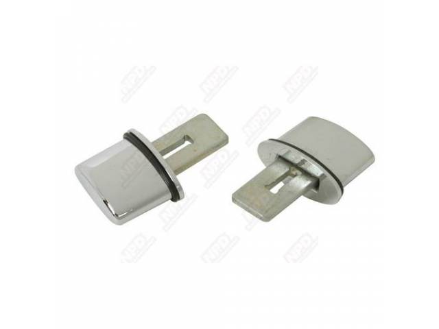 Outside Door Handle Push Button Set