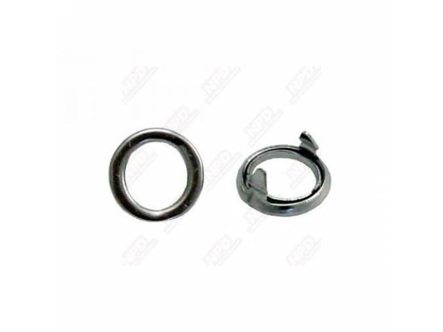 Ferrule Set, Door Lock Knob, Stainless Steel, Pair,