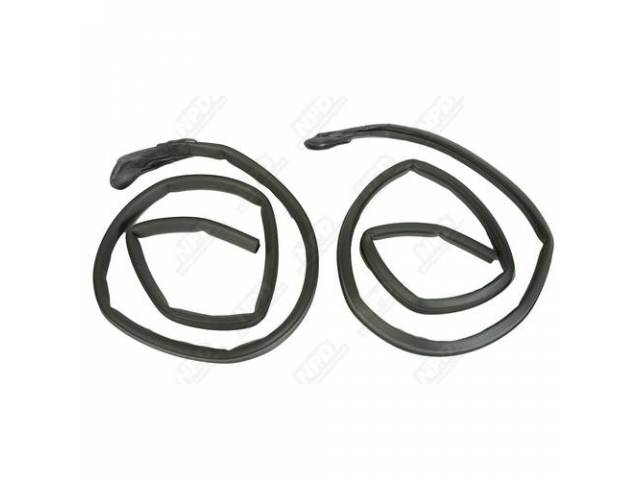 Seal Roof Rail Rubber Correct Repro Seals Have
