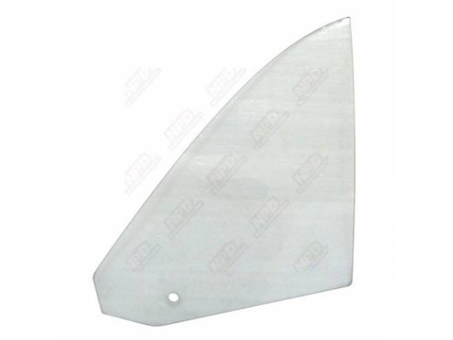 Glass Quarter Window Clear Rh Incl Correct Mopar