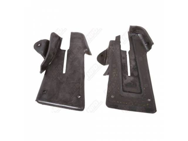 Seals Door Lock Pillar Steel Rubber Coated Seals