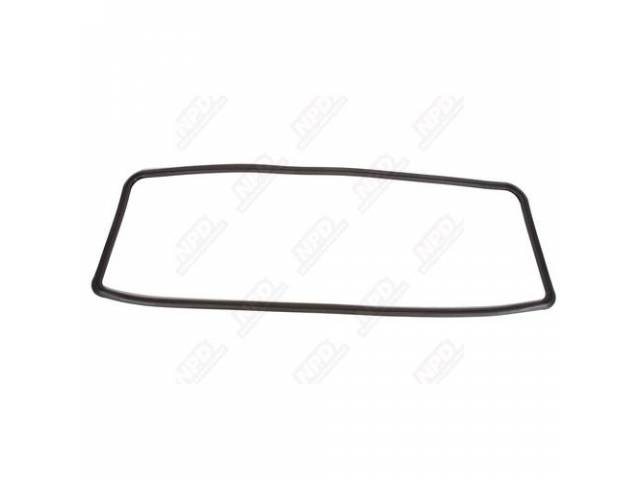 Gasket Rear Window Molded Rubber Repro