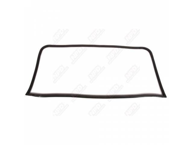 Gasket, Rear Window, Molded Rubber, Repro