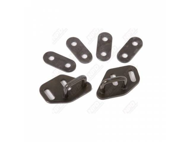 Latch And Spacer Set Bucket Seat Incl 4