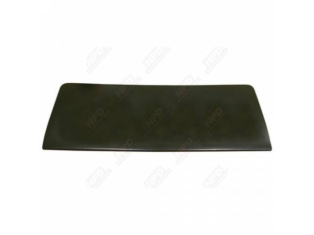 Deck Lid, Trunk, W/O Spoiler Holes, Oe Correct Style, Edp Coated, Repro