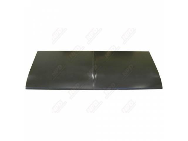 Deck Lid Trunk W/O Spoiler Holes Oe Correct