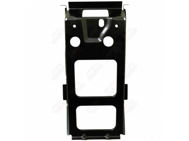 Brace, Center Tail Pan / Trunk Lock, Braces