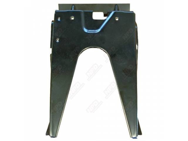 Brace, Center Tail Pan / Trunk Lock, Braces