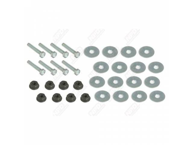 Grille Hardware Kit, This Kit Holds The Three