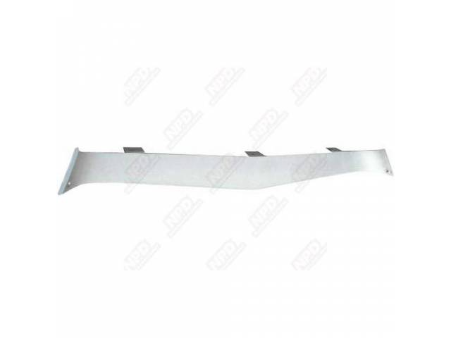 Insert Lower Grill / Front Valance Gray Molded