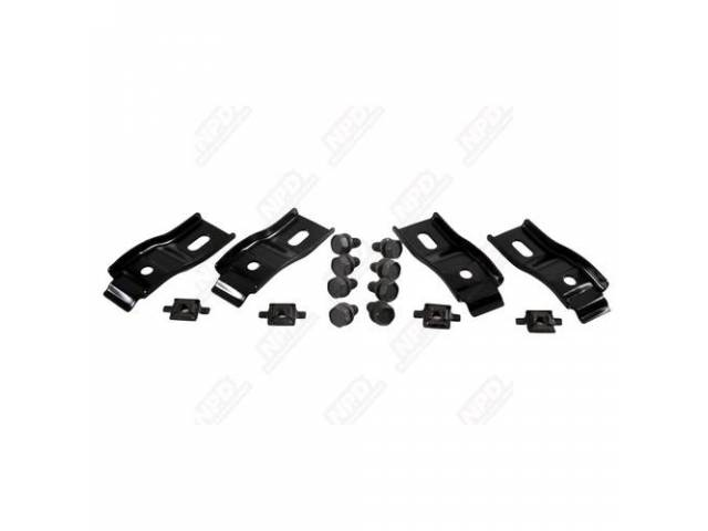 MOUNTING BRACKET KIT FAN SHROUD W / 22